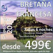 Circuito Bretaña Francesa :: 7 Días en Media Pensión :: desde 499€