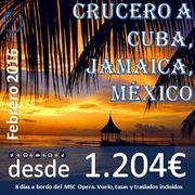 Foro : Crucero Cuba Jamaica México : Régimen Pensión Completa : Salidas desde Madrid