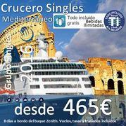 """Crucero """"Low Cost"""" desde Málaga Noviembre 2016 Con Regimen TODO INCLUIDO desde 465€ + tasas"""