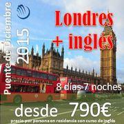 Singles en Londres + curso de inglés desde 790€