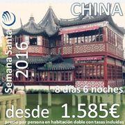 China Semana Santa -Pekín y Shanghai (8 días 6 noches desde 1.585€)