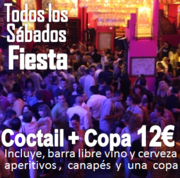 Todos los SÁBADOS .. Coctail y Fiesta para Singles en Discoteca Alegoria Madrid  desde las 22:00h