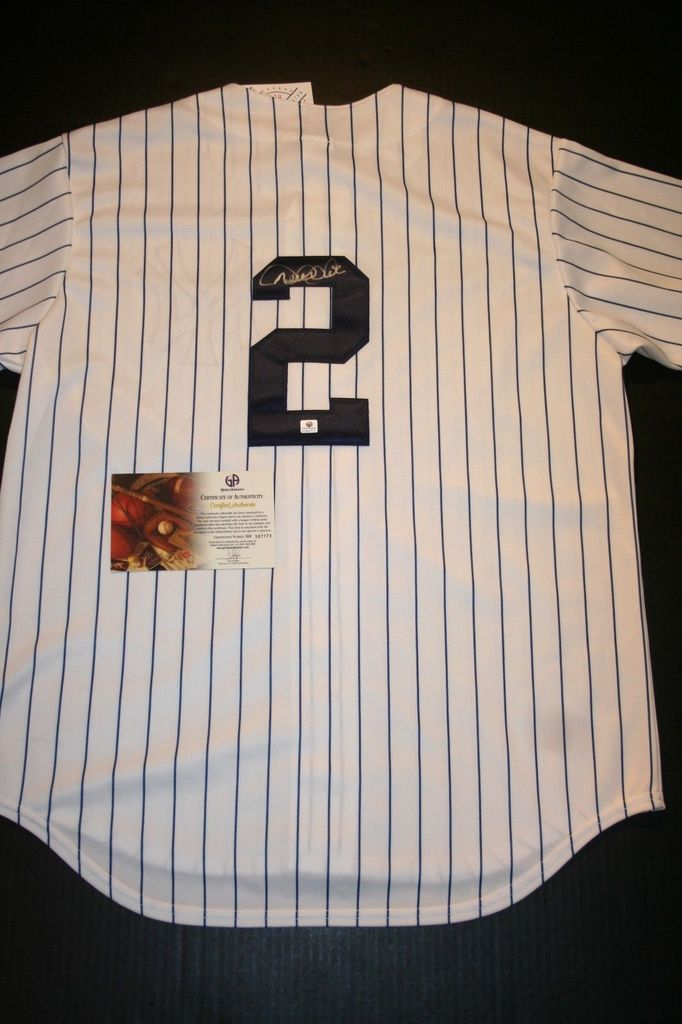 sale retailer f187d 53a9a Derek Jeter Jersey forgery for sale by eBay seller KEIF1234 ...