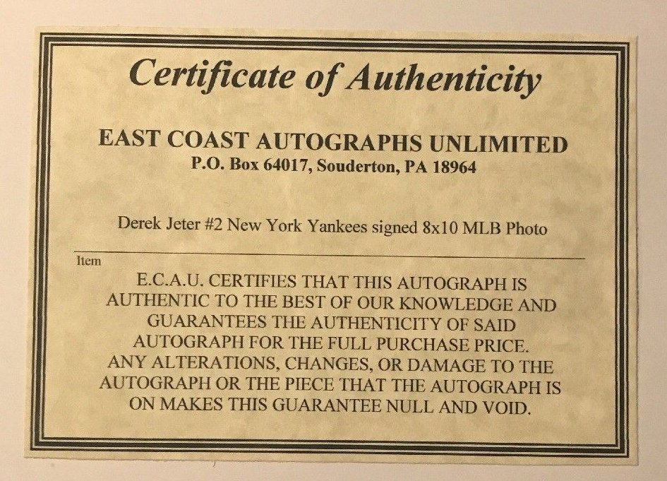 e2e1f5488d3 Some of the forgeries sold by Ebay seller Blakely74 that accompany the  worthless East Coast Autographs Unlimited COA.