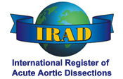 The Aortic Dissection Forum UK supports the International Register of Acute Aortic Dissections (IRAD)