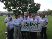 Walk with Rafael- endorsed candidate for Congress