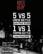 Break The Bay | 5 vs 5 Breaking Crew Battle
