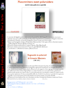 "1° MOSTRA di ""Nanowriters meet polaroiders -Scrivi una pola in 10 parole"""