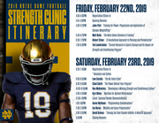 2019 Notre Dame Strength and Conditioning Clinic