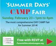 """Free """"Summer Days"""" CAMP FAIR"""