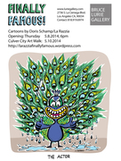 'Finally Famous!' A Cartoon Exhibition by La Razzia
