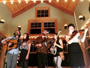 Oregonian folk orchestra Patchy Sanders performs at Boulevard Music!