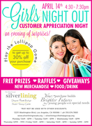 Silverlining Resale Boutique Girls Night Out