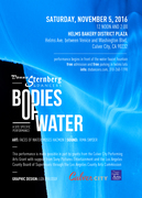DONNA STERNBERG & DANCERS PRESENTS  BODIES OF WATER