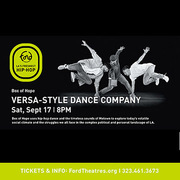 Versa-Style fuses Motown R&B with hip hop moves for evening of dance at the Ford