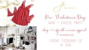 Pre-Valentines Wine + Cheese Event at Ji by Fleur't