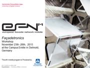 """EFN mobile Workshop """"Facadetronics"""" in Detmold"""