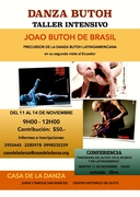 WORKSHOP BY JOAO BUTOH from Brasil