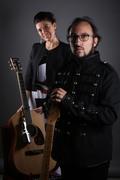 Federica Gennai+Filippo Cosentino presentazione Come hell or high water @Roero Music Fest