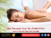 Book Male Therapist Near Me with King Thai Massage in Toronto