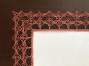 Bobbin Lace: Using Modern Grounds with Michele Kelley