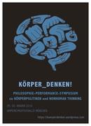 THINKING_BODIES! Performance Philosophy Symposium Munich