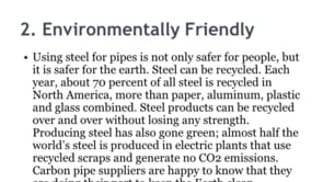 Common Reasons to Use Carbon Steel Pipe s by Jaydeep Steels