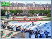 School Trips French - Most Popular School Tours