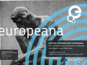 """WEBINAR """"Critical thinking with Europeana: The use of primary sources as an effective technique to spot fake news"""""""
