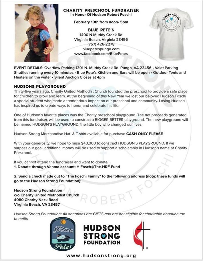 Hudson Strong Fondation
