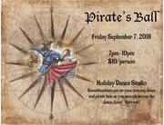 Pirate's Ball at Holiday Dance Studio