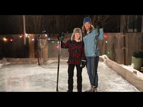 Back yard hockey ... mybackyardicerink.com