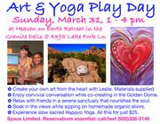 Art & Yoga Play Day - PRESCOTT