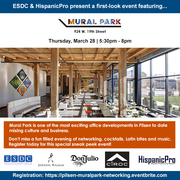 First Look Business Networking - Mural Park Pilsen