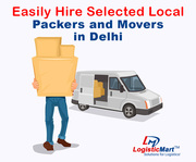 Easily Hire Selected Local Packers and Movers services in Delhi city - LogisticMart