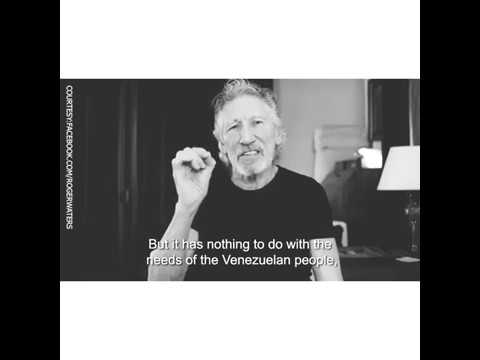 Roger Waters slams 'humanitarian' concert for Venezuela