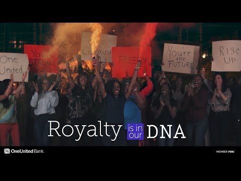 Royalty is in our DNA #BankBlack | OneUnited Bank