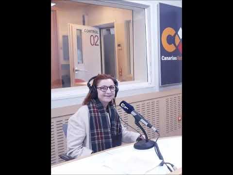 Entrevista a Rosalía Fernández Alaya en Radio Canarias