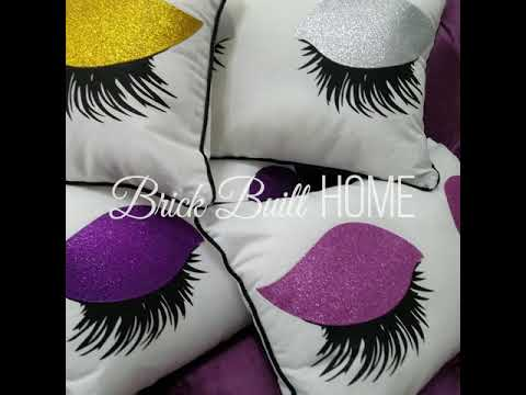 Brick Built Home: Pillow Covers!