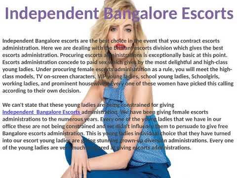 Independent Bangalore Escorts