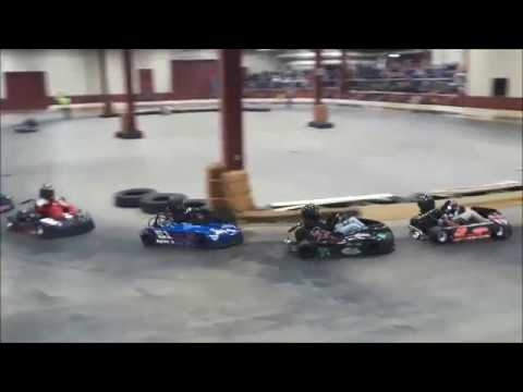 A Very Tough Sunday Kart Race At the 2019 Motorama