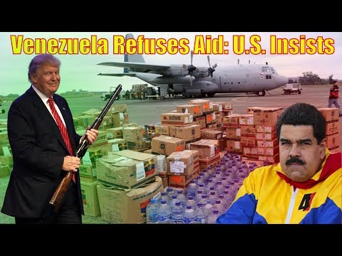 Maduro Rejects Aid: Allies Not Accepting No, Military Action Imminent