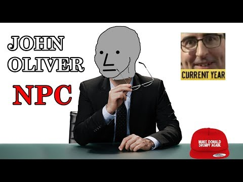 John Oliver is an NPC