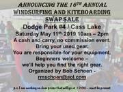 16th Annual Windsurfing Swap Meet