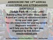 16th Annual Windsurfing Swap Meet