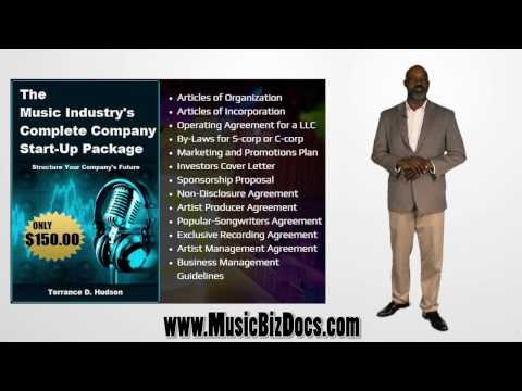 MusicBizDocs.com...Start your company TODAY!