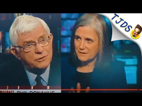 "MSNBC ""Terrified Of Anti-War Voices"" Says Fired Anti-War Host Phil Donahue (Tulsi Gabbard)"