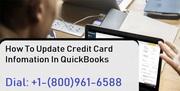 Update Card In QuickBooks: 1800-961-6588
