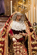 Besamanos a la Virgen del Mayor Dolor y Traspaso