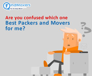Are you confused which one Best Packers and Movers Company for You - FindMovers
